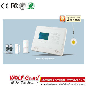 M2bx GSM Alarm System with LCD Display and Touchkeypad pictures & photos