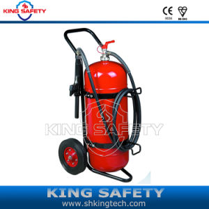 Trolley Fire Extinguisher Powder ABC40% pictures & photos