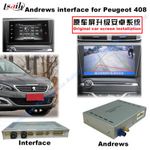 (13-16) Car HD Android Multimedia Interface GPS Navigator for Peugeot 408 pictures & photos