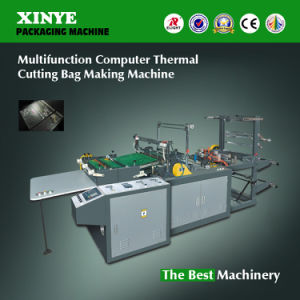 Hot Side Cutting and Sealing Bag Machine Machine pictures & photos