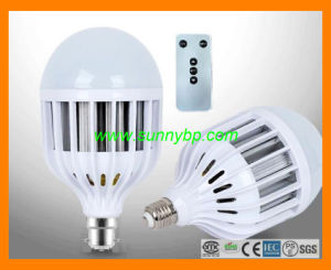 220V Indoor Rechargeable LED Lamp with Remote Controller pictures & photos