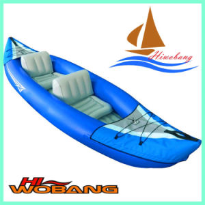 Cheap Inflatable Kayak, Double Kayak, Plastic Fishing Boat pictures & photos