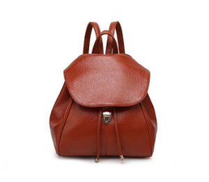 China Leading Ladies PU Backpack Manufacturer with 16-Years Experience pictures & photos
