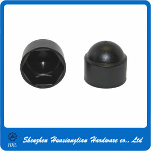 Black Nylon Insert Hex Flange Lock Cap Nuts pictures & photos