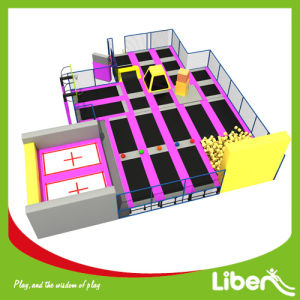 Round 500sqm Indoor Trampoline Park for Egypt Customer pictures & photos