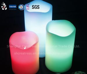 Wholesale LED Flashing Electric Candles pictures & photos