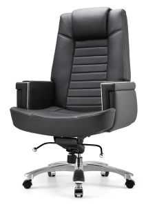 Commercial Deluxe Comfortable Cow Leather Task Chair pictures & photos