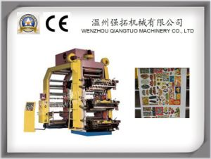 High Speed Good Function 6 Color Printing Machine