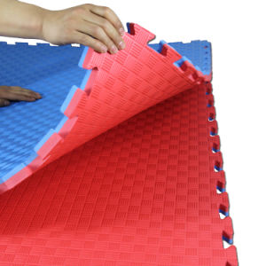 Safety Fitness Center EVA Taekwondo Foam Floor Exercise Mats for Competitions pictures & photos