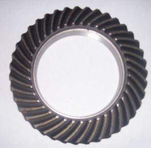 High Precision Stainless Steel Auto Spiral Bevel Wheel Gear pictures & photos