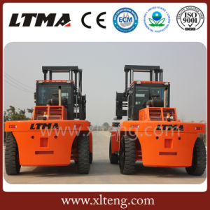 Diesel Power 25 Ton Big Forklift Truck Made in China pictures & photos