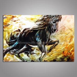 Galloping Horse Metal Wall Art / Painting on Aluminum Board pictures & photos