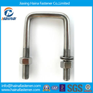 Stainless Steel Square U-Bolts/U Type Bolt/U Bolt with Nuts pictures & photos