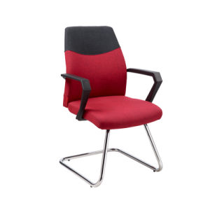 Modern Office Mesh Upholstered Computer Visitor Fixed Chair (FS-8827V) pictures & photos