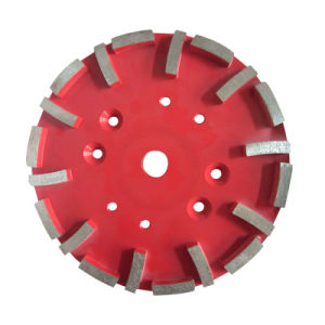 250mm Diamond Grinding Disc for Concrete pictures & photos