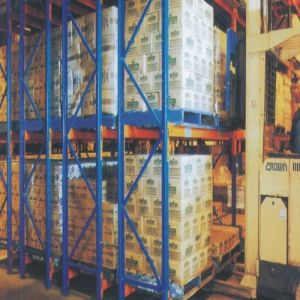 Double Deep Heavy Duty Pallet Metal Racking pictures & photos