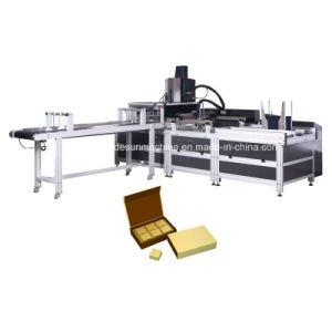 Automatic Book Cover Pasting Machine for Book Type Box pictures & photos