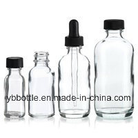 0.5oz/15ml, 1oz/30ml, 2oz/60ml, 4oz/120ml Amber/Green/Blue/Clear Boston Round Glass Bottle Manufacturer pictures & photos