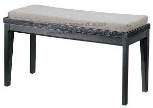 Modern Fabric Upholstered Wooden Dressing Stool (I&D-10526-01)