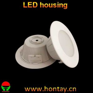 LED Down Light Housing with Plastic Body