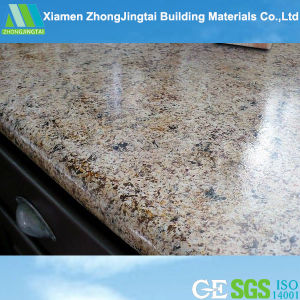 Pure White/Black/Yellow/Grey/Green Polished Artificial Quartz/Granite/Marble Stone Countertop pictures & photos