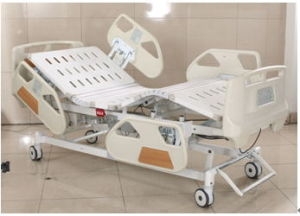 ICU Electric Hospital Bed with Five Functions pictures & photos