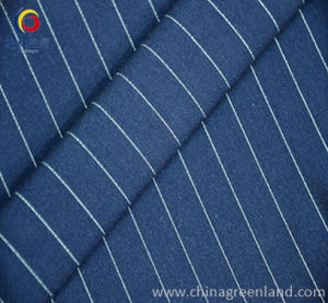 Weft Knit T/R Spandex Chambray Cationic Fabric pictures & photos