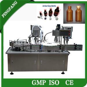The Newest Fully Automatic Liquid Filling Machine, Bottle Filling Machine pictures & photos