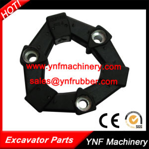 Black Rubber Flexible Coupling 4as/4A for Excavator pictures & photos