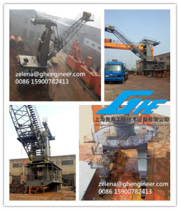 Lattice Boom Port Rail Type Mobile Port Crane pictures & photos
