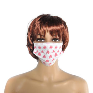 Disposable Face Mask Heart Printed pictures & photos