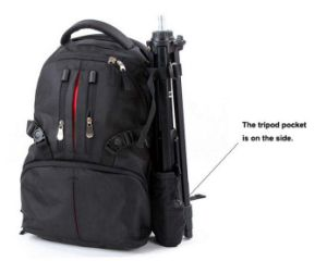 Camera Bag DSLR SLR Laptop Backpack Rucksack Bag Case Sh-16042646 pictures & photos