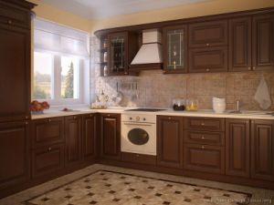Dark Walnut Kitchen Cabinets (dw67) pictures & photos