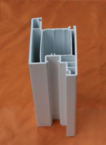 White Window Frame PVC Profile Plastic Profiles pictures & photos