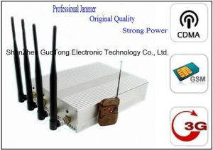 Signal Jammer 3G Mobile Phone Signal Jammer 15W High Power Remote Control