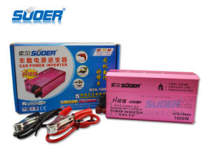 Suoer External Fuse 12V Modified Sine Wave Power Inverter 1000W (KFA-1000A) pictures & photos