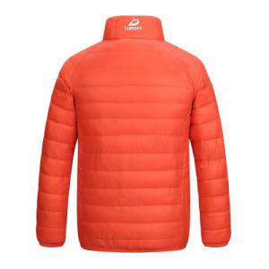 Down Jacket Feather Down Graduate Color Coat Jacket for Man Children 603 pictures & photos