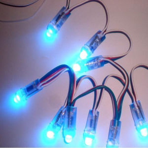 Waterproof Smart 9mm Single Color LED Pixel Light with IC