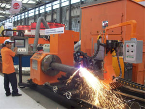 CNC Tube Plasma Profile Cutting Machine, Pipe Cutting Machine pictures & photos
