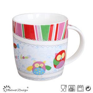 Owl Design Ceramic Cheap Cartoon Mug pictures & photos