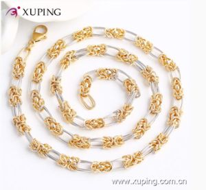 42886 Fashion Multicolor Charm Imitation Jewelry Chain Necklace with Nickle Free pictures & photos