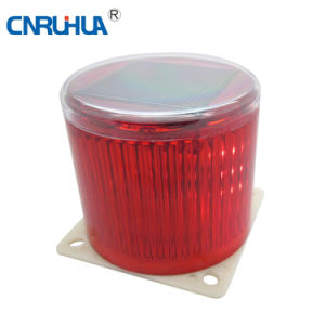 High Quality LED Solar Red Warning Light Ltd-6108 pictures & photos