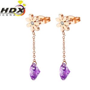 Stainless Steel Jewelry Fashion Jewelry Ladies Earrings pictures & photos