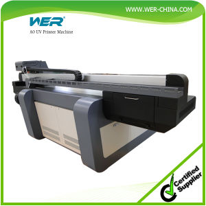 Ce Certificate Wer-Ef1310UV with 2PCS Dx5 1440dpi A0 UV Printer pictures & photos
