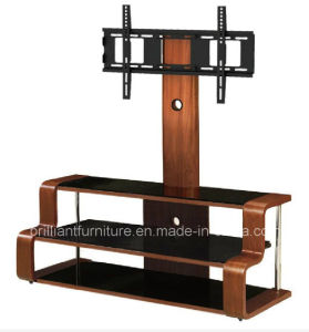 Bended Wood TV Stand with Bracket (BR-TV532)