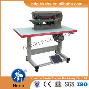 Foam Rubber Leather Sheet Cutting Slitting Machine pictures & photos