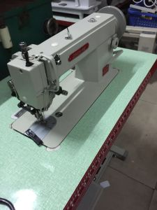 Flat Bed Thick Materials Walking Foot Sewing Machine (ZH-0318) pictures & photos