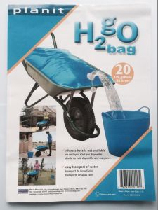 Patented 80L Food Grade Garden Use H2go Bag Water Bag pictures & photos