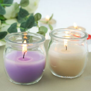 Scented Soy Candle in Eletroplate Glass for Party pictures & photos