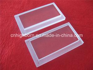 Customized Transparent Quartz Plate Quartz Glass Plate with Steps pictures & photos